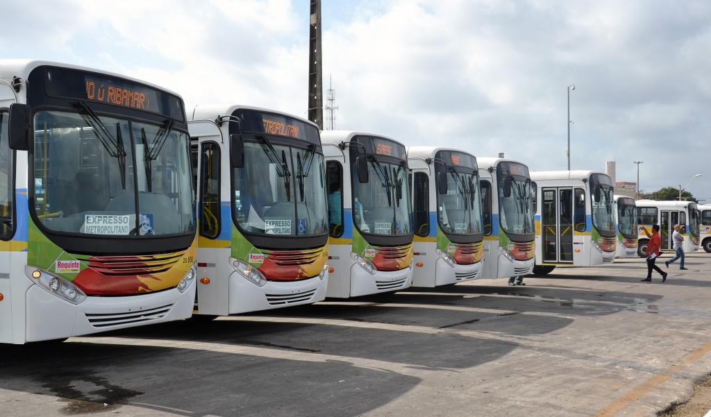 Ônibus começam a circular na quarta-feira
