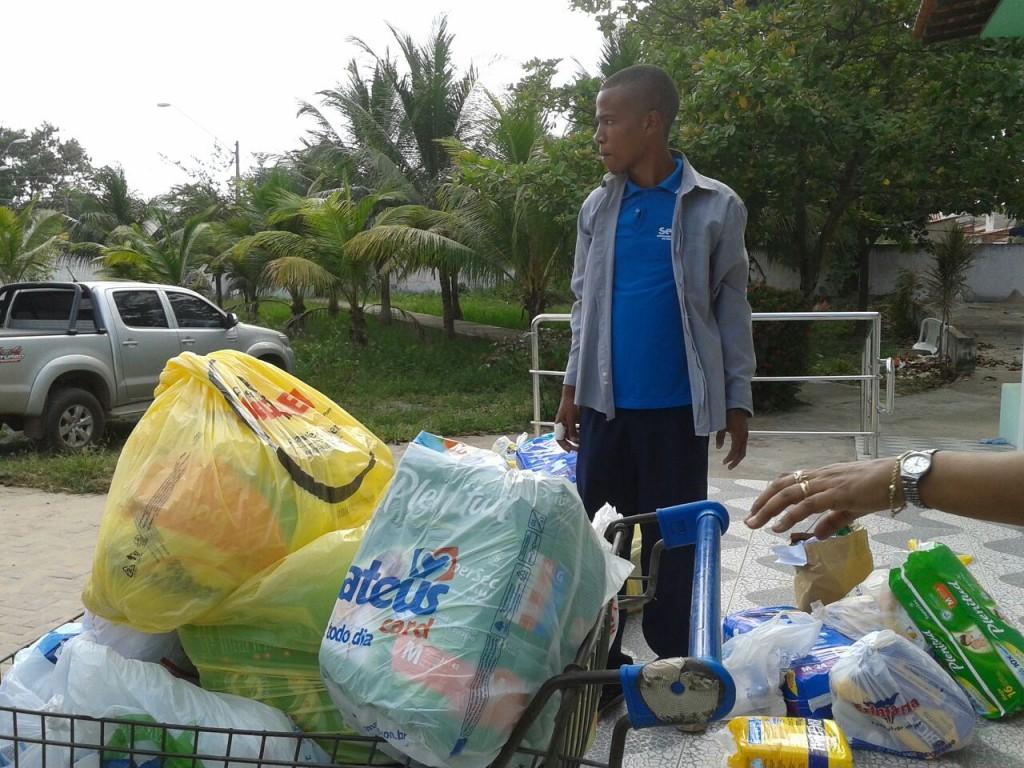 Doações de kits foram entregues ao asilo Solar do Outono