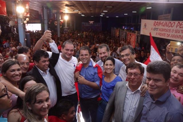 Convenção foi marcada por filiações de 15 prefeitos maranhenses