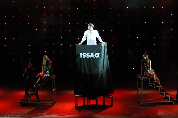 Issao Imamura em apresentação no Teatro Arthur Azevedo