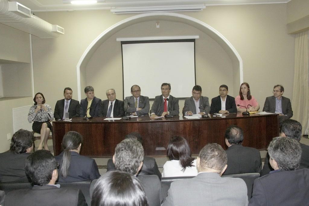 Renião contou ainda com a presença de secretários estaduais