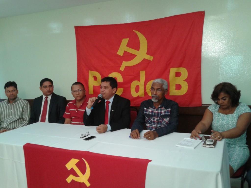 Domingos Dutra deixou o Solidariedade e ingressou no PCdoB