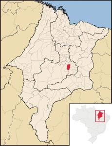 mapa Presidente Dutra