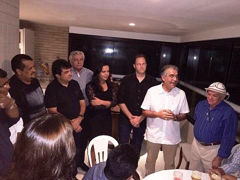 Soliney reuniu políticos e lideranças para discutir rumos do PRTB no Maranhão