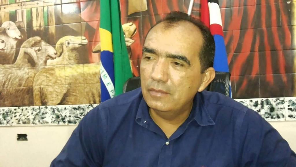 Totonho Chicote, prefeito de Pedreiras