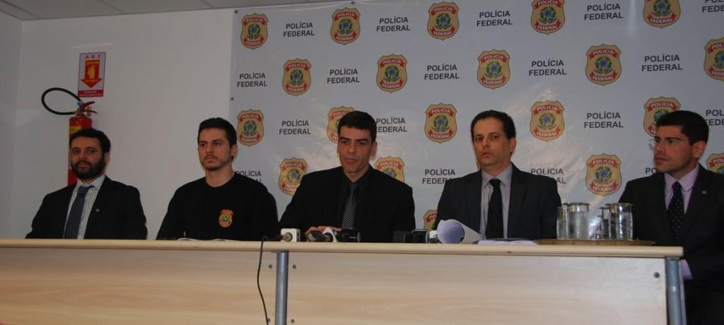 Em entrevista coletiva, membros do Ministério Público do Maranhão, Polícia Federal e Controladoria Geral da União informaram à imprensa detalhes das investigações