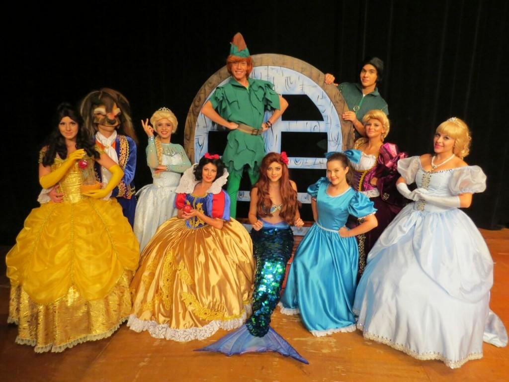 Direto da Disney para o Teatro Arthur Azevedo