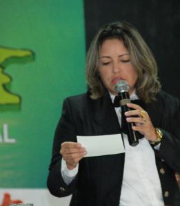 secretária de Estado do Planejamento, Cynthia Mota