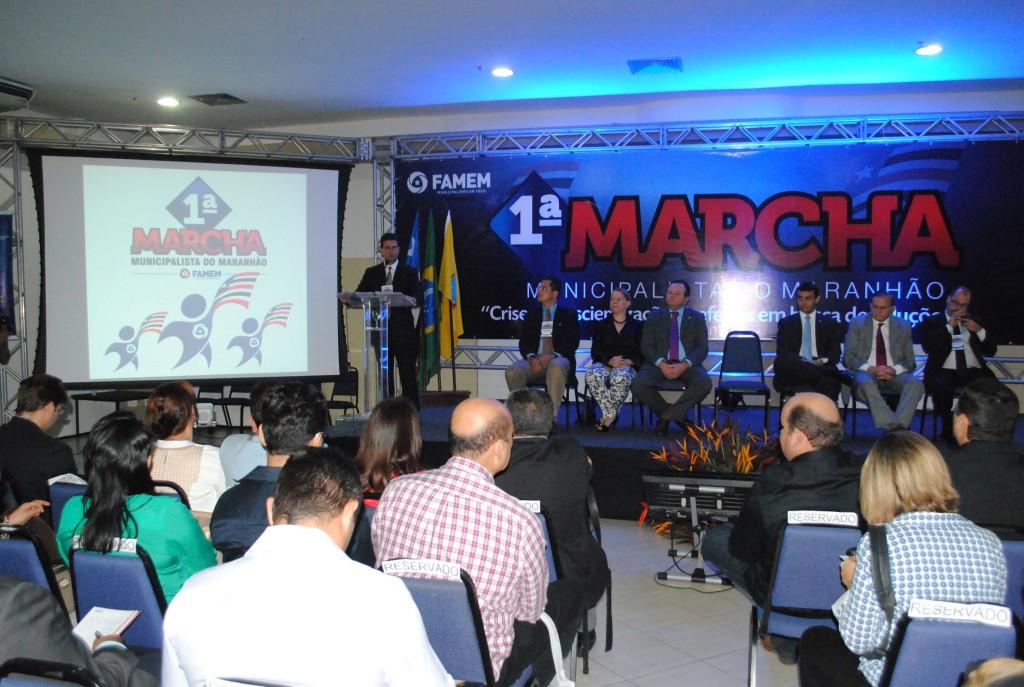 Marcha Municipalista do Maranhão está sendo realizado pela Famem, no Rio Poty Hotel, em São Luís