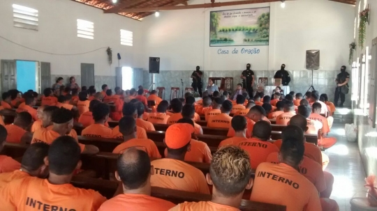 Presos receberam recomendações e determinações da Justiça do Maranhão