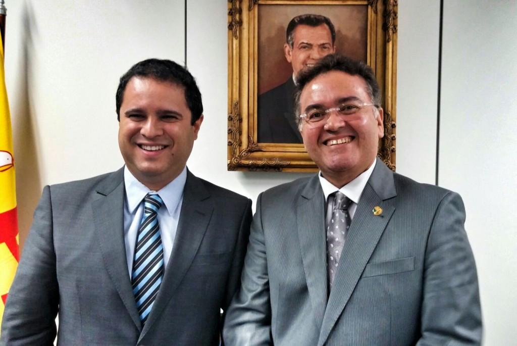 Edivaldo Holanda Júnior e Roberto Rocha: Reencontro em Brasília