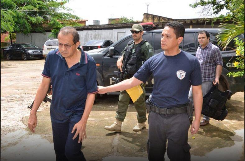 Foto Jornal Pequeno: Raimundo Lisboa já havia sido preso na primeira etapa da operação. Volta à prisão preventiva