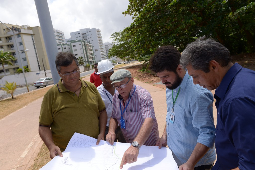 "Governador vistoriou obras do ""Mais Saneamento"""