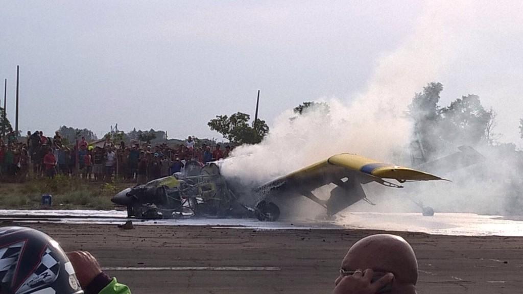 Acidente com o monomotor aconteceu logo após uma decolagem