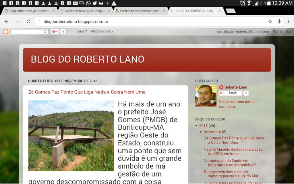 Blog de Roberto Lano