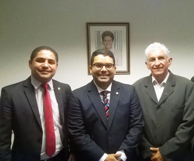 Zé Inácio esteve em Brasília para tratar da execução de convênios com vários municípios