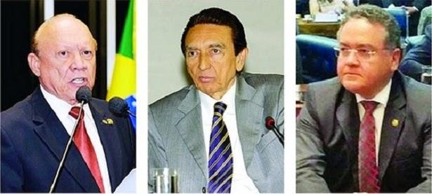 Roberto Rocha e João Alberto votaram pelo relaxamento da prisão de Delcídio; Edson Lobão se absteve