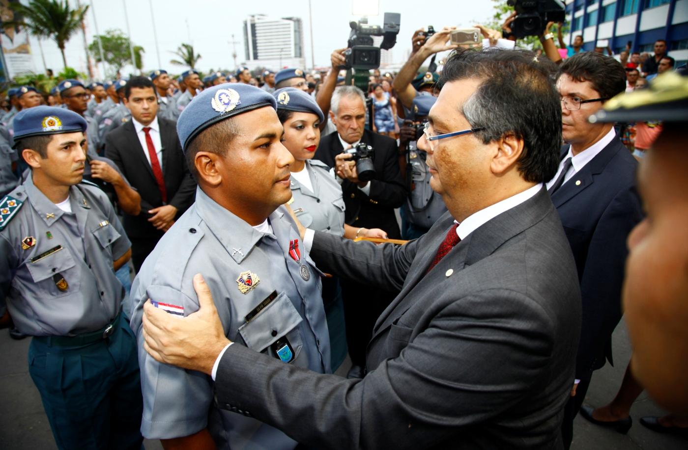 Governo Flávio aumentou, significativamente, o quadro de policiais do Estado