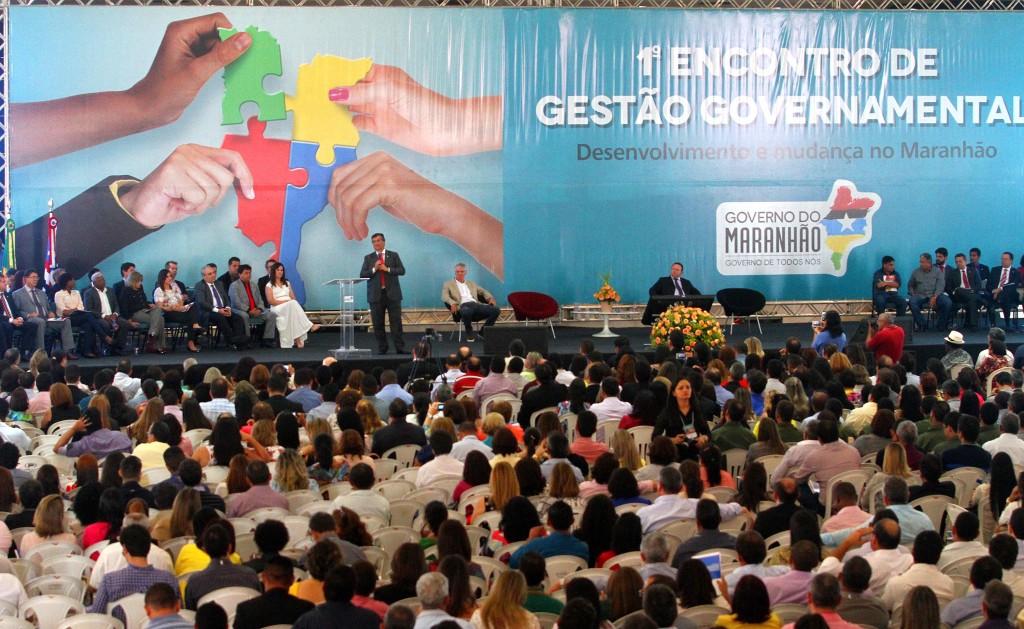 Governador discorreu sobre suas ações em evento na Ufma