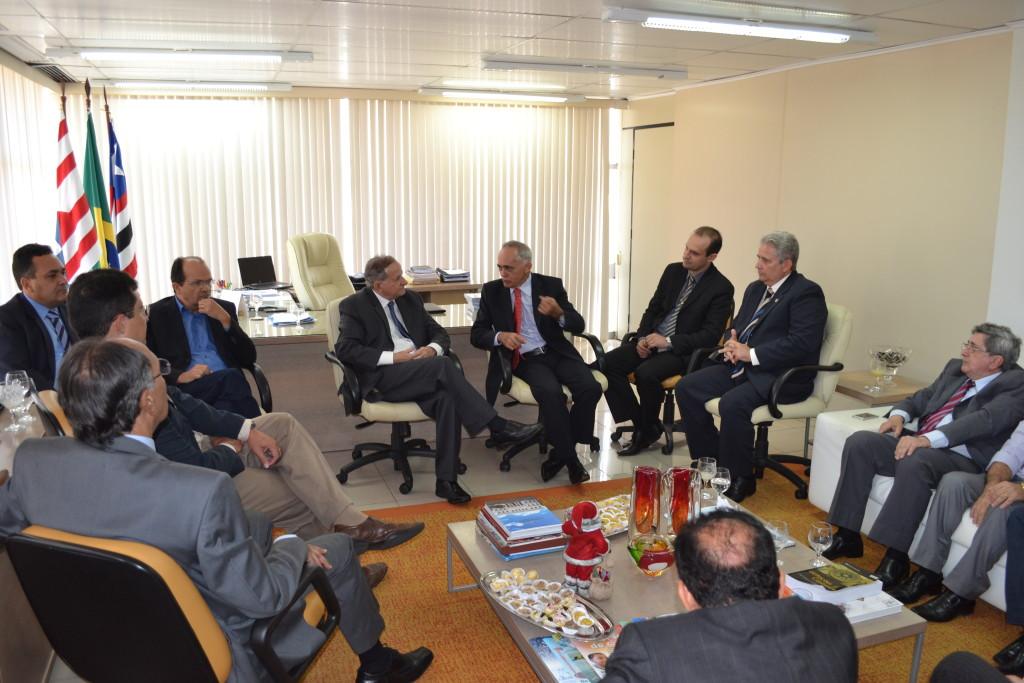 reunião discutiu parcerias