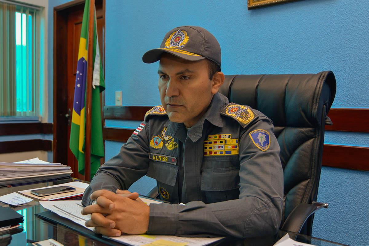 O coronel Marco Antônio Alves não é mais o comandante da Polícia Militar do Maranhão