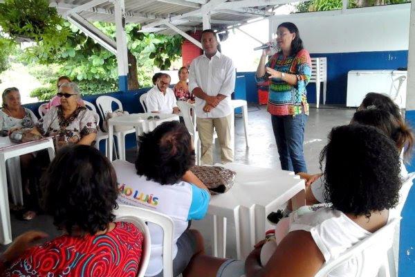 Foto-legenda – Atividades foram reabertas na sede da Assuma por conta da obra de reforma do Centro de Convivência