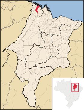 Mapa Cândido Mendes