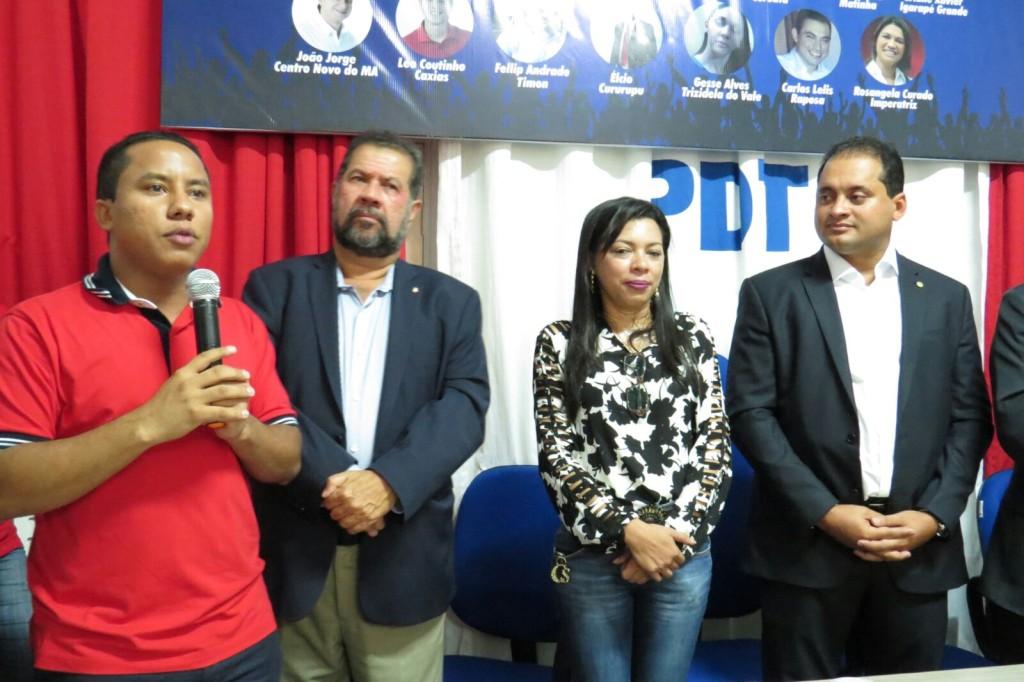 Raimundo Penha teve pré-candidatura lançada com presença de Carlos Lupi e Weverton Rocha