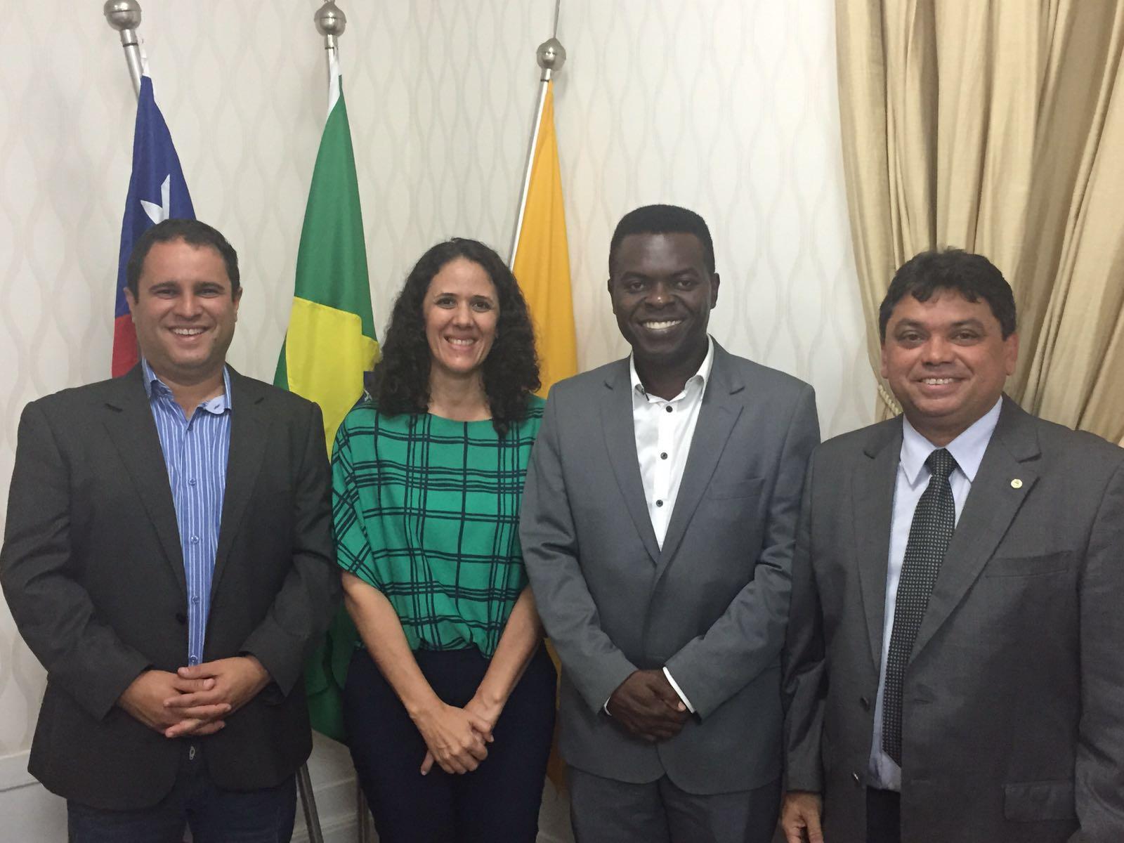 Na foto, Edivaldo Júnior, Conceição Castro, batista Matos e Márcio Jerry