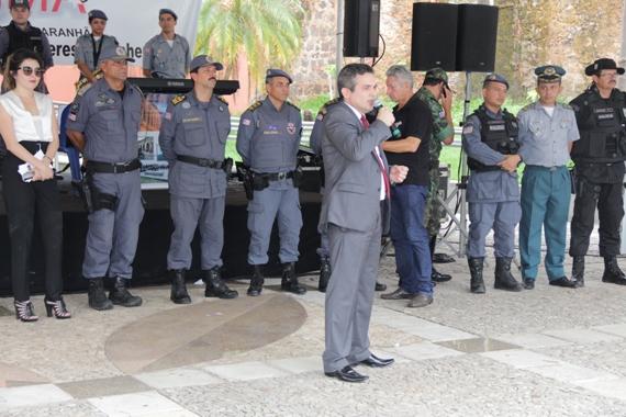 Adjunto da SSP e comandante geral da Polícia Militar prestigiam a Exposegma