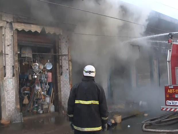 Incêndio no Mercado Central