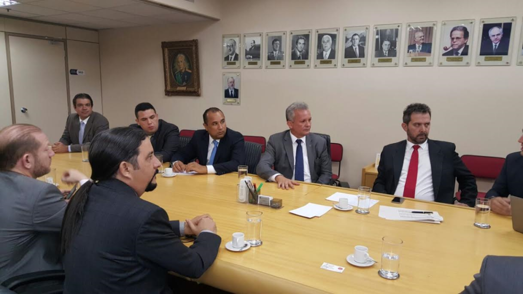 Deputados maranhenses tiveram audiência com o ministro em Brasília