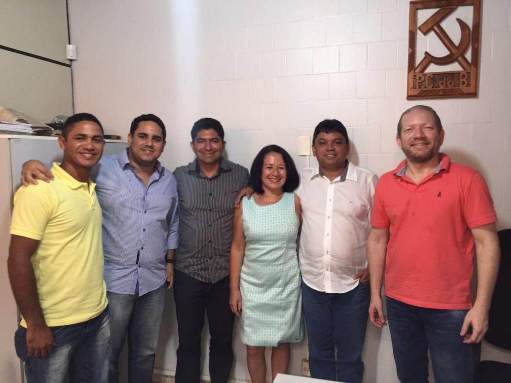 Irene Freire conta com o apoio do PCdoB para disputar a Prefeitura de Paulino Neves