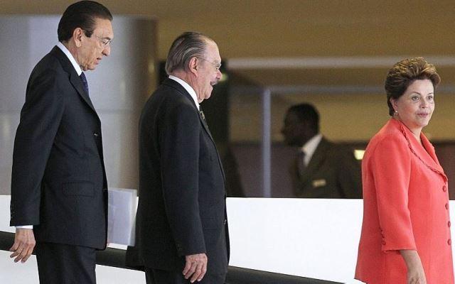 Sarney e Lobão usufruíram do PT e do governo Dilma e depois se uniram para cassá-la