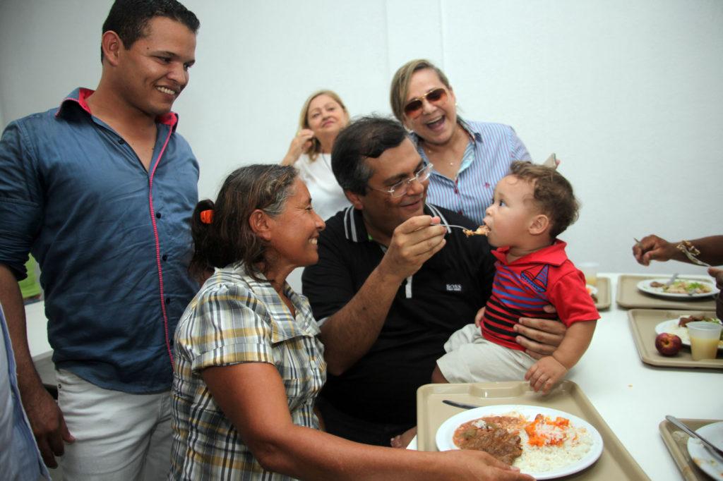 Flávio Dino entregou mais um restaurante popular no Maranhão