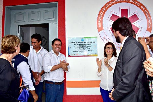 No ato de entrega da nova sede do Samu, o prefeito destacou a ampliação do serviço