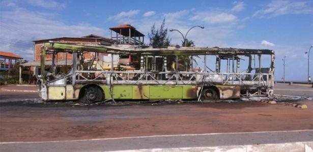 ônibus foram incendiados por ordem de traficantes