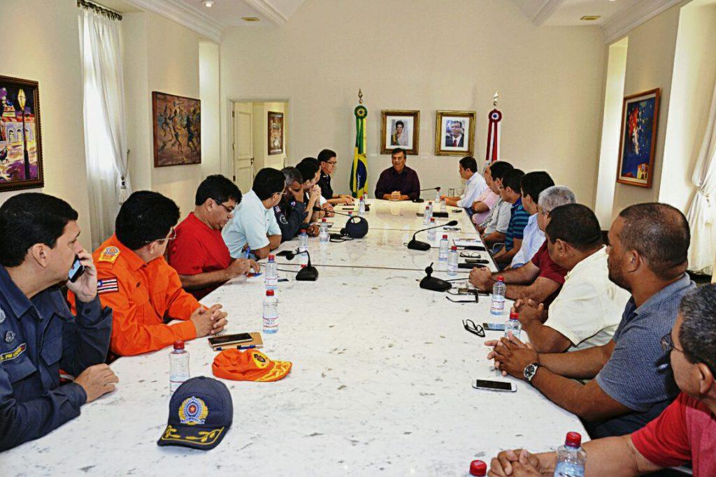 Monitoramento foi determinado pelo governador Flávio Dino, em reunião neste domingo (22)