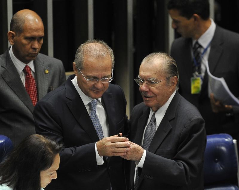 Renan Calheiros e Sarney