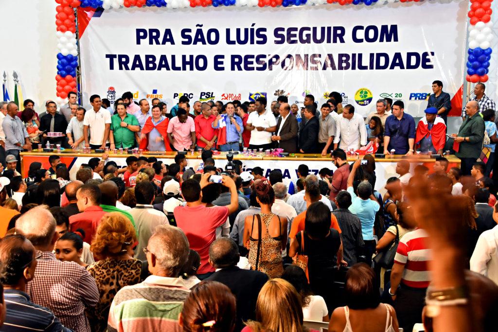 Edivaldo lançou pré-candidatura em evento concorrido