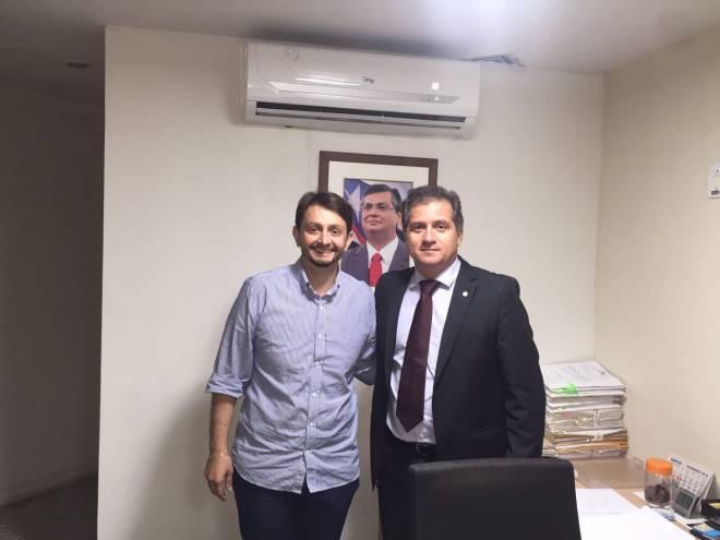 Leonardo Sá fecha com mais um partido e caminha para a maior coligação em Pinheiro