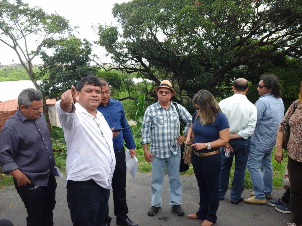 Secretário de Comunicação, Márcio Jerry, mostrou à Imprensa obras do governo em São Luís