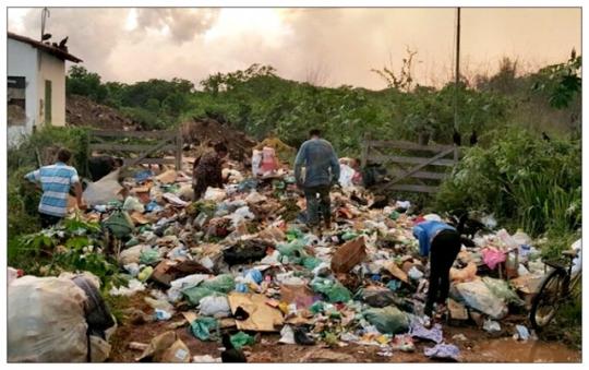 Lixo em Coroatá