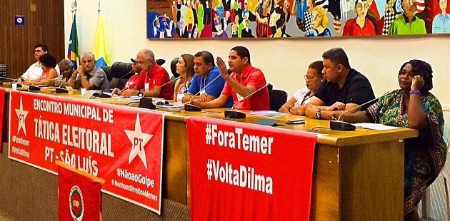 PT definiu posicionamento para São Luís e demais regiões do Maranhão