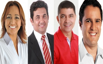 Pré-candidatos disputam posições