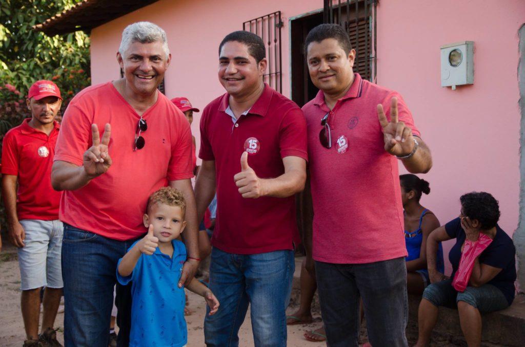 Em Bequimão, o PT emplacou o vice do candidato à reelição Zé Martins