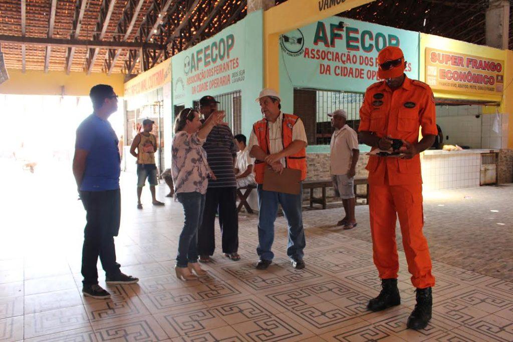 Governo assumiu gestão das obras do Mercado da Cidade Operária