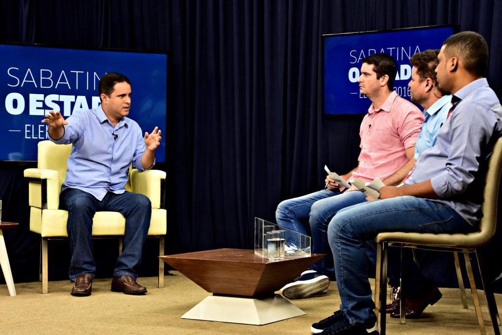 Edivaldo Jr foi sabatinado por jornalistas de O Estado do Maranhão
