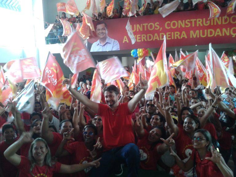Leonardo Sá confirma candidatura própria do PCdoB a prefeito de Pinheiro