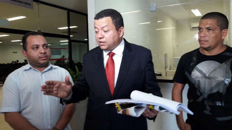 Marlon Reis protocolou denúncia hoje